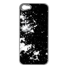 Space Colors Apple Iphone 5 Case (silver) by ValentinaDesign