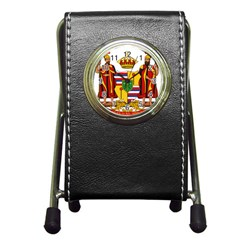 Kingdom Of Hawaii Coat Of Arms, 1795 1850 Pen Holder Desk Clocks by abbeyz71