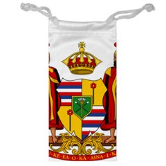 Kingdom Of Hawaii Coat Of Arms, 1795 1850 Jewelry Bag by abbeyz71