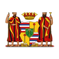 Kingdom Of Hawaii Coat Of Arms, 1795 1850 Plate Mats by abbeyz71