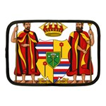 Kingdom of Hawaii Coat of Arms, 1795-1850 Netbook Case (Medium)  Front