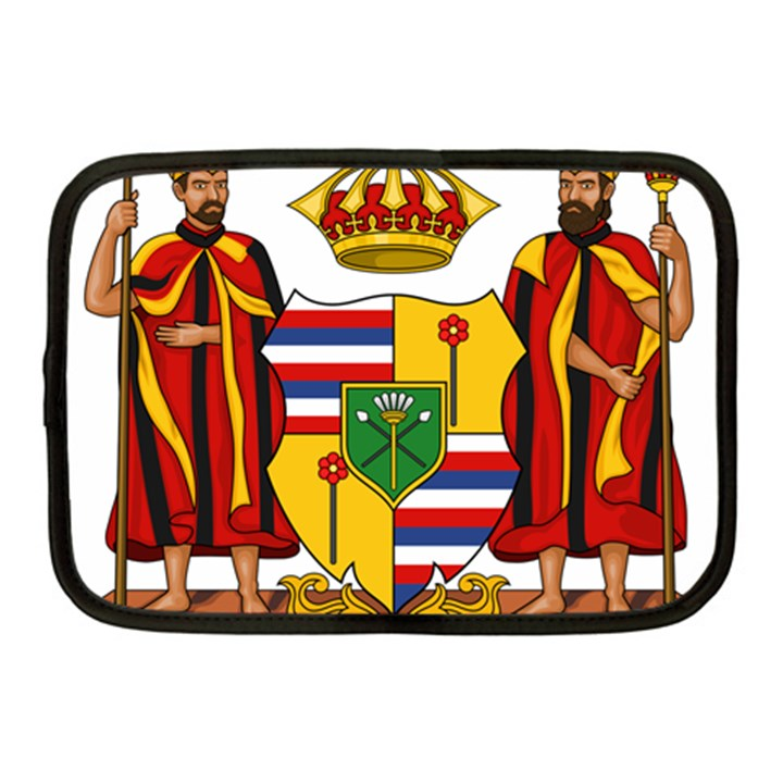 Kingdom of Hawaii Coat of Arms, 1795-1850 Netbook Case (Medium)