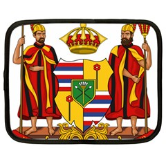 Kingdom Of Hawaii Coat Of Arms, 1795 1850 Netbook Case (large) by abbeyz71