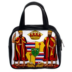 Kingdom Of Hawaii Coat Of Arms, 1795 1850 Classic Handbags (2 Sides) by abbeyz71