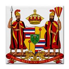 Kingdom Of Hawaii Coat Of Arms, 1795 1850 Face Towel by abbeyz71