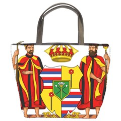 Kingdom Of Hawaii Coat Of Arms, 1795 1850 Bucket Bags by abbeyz71