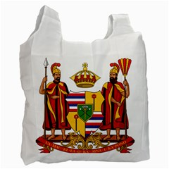 Kingdom Of Hawaii Coat Of Arms, 1795 1850 Recycle Bag (one Side) by abbeyz71