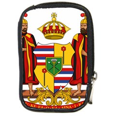 Kingdom Of Hawaii Coat Of Arms, 1795 1850 Compact Camera Cases by abbeyz71