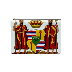Kingdom Of Hawaii Coat Of Arms, 1795 1850 Cosmetic Bag (medium)  by abbeyz71