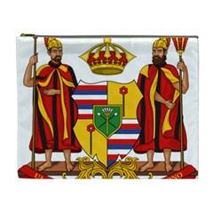Kingdom Of Hawaii Coat Of Arms, 1795 1850 Cosmetic Bag (xl) by abbeyz71