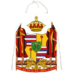 Kingdom Of Hawaii Coat Of Arms, 1795 1850 Full Print Aprons by abbeyz71