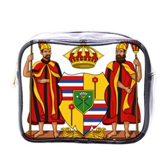 Kingdom Of Hawaii Coat Of Arms, 1795 1850 Mini Toiletries Bags by abbeyz71
