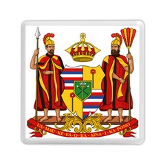 Kingdom Of Hawaii Coat Of Arms, 1795 1850 Memory Card Reader (square)  by abbeyz71