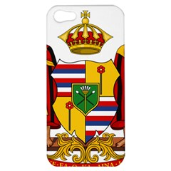 Kingdom Of Hawaii Coat Of Arms, 1795 1850 Apple Iphone 5 Hardshell Case by abbeyz71