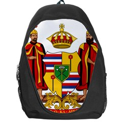 Kingdom Of Hawaii Coat Of Arms, 1795 1850 Backpack Bag by abbeyz71