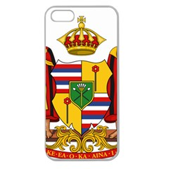 Kingdom Of Hawaii Coat Of Arms, 1795 1850 Apple Seamless Iphone 5 Case (clear) by abbeyz71