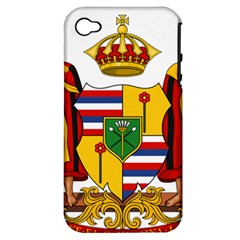 Kingdom Of Hawaii Coat Of Arms, 1795 1850 Apple Iphone 4/4s Hardshell Case (pc+silicone) by abbeyz71