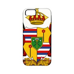 Kingdom Of Hawaii Coat Of Arms, 1795 1850 Apple Iphone 5 Classic Hardshell Case (pc+silicone) by abbeyz71