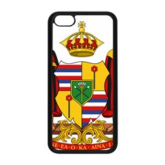 Kingdom Of Hawaii Coat Of Arms, 1795 1850 Apple Iphone 5c Seamless Case (black) by abbeyz71