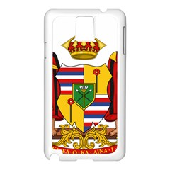 Kingdom Of Hawaii Coat Of Arms, 1795 1850 Samsung Galaxy Note 3 N9005 Case (white) by abbeyz71