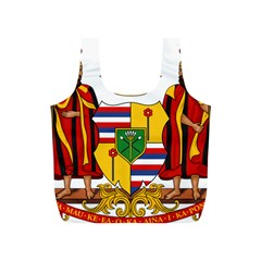 Kingdom Of Hawaii Coat Of Arms, 1795 1850 Full Print Recycle Bags (s)  by abbeyz71