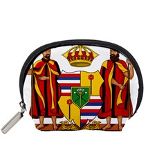 Kingdom Of Hawaii Coat Of Arms, 1795 1850 Accessory Pouches (small)  by abbeyz71