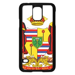 Kingdom Of Hawaii Coat Of Arms, 1795 1850 Samsung Galaxy S5 Case (black) by abbeyz71