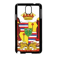Kingdom Of Hawaii Coat Of Arms, 1795 1850 Samsung Galaxy Note 3 Neo Hardshell Case (black) by abbeyz71