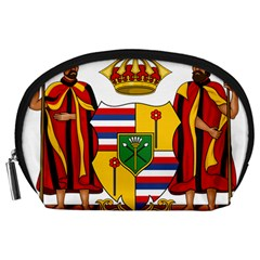 Kingdom Of Hawaii Coat Of Arms, 1795 1850 Accessory Pouches (large)  by abbeyz71