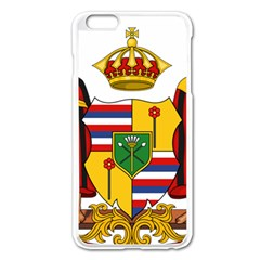 Kingdom Of Hawaii Coat Of Arms, 1795 1850 Apple Iphone 6 Plus/6s Plus Enamel White Case by abbeyz71