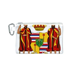 Kingdom Of Hawaii Coat Of Arms, 1795 1850 Canvas Cosmetic Bag (s) by abbeyz71