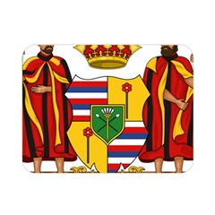 Kingdom Of Hawaii Coat Of Arms, 1795 1850 Double Sided Flano Blanket (mini)  by abbeyz71