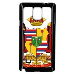 Kingdom Of Hawaii Coat Of Arms, 1795 1850 Samsung Galaxy Note 4 Case (black) by abbeyz71