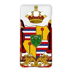Kingdom Of Hawaii Coat Of Arms, 1795 1850 Samsung Galaxy A5 Hardshell Case  by abbeyz71