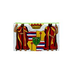 Kingdom Of Hawaii Coat Of Arms, 1795 1850 Cosmetic Bag (xs) by abbeyz71
