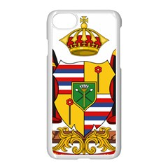 Kingdom Of Hawaii Coat Of Arms, 1795 1850 Apple Iphone 7 Seamless Case (white) by abbeyz71