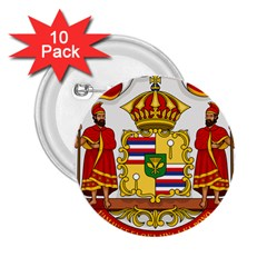 Kingdom Of Hawaii Coat Of Arms, 1850 1893 2 25  Buttons (10 Pack)  by abbeyz71
