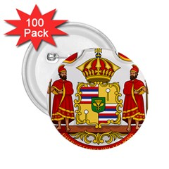 Kingdom Of Hawaii Coat Of Arms, 1850 1893 2 25  Buttons (100 Pack)  by abbeyz71