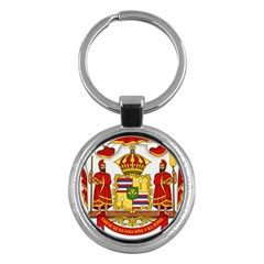Kingdom Of Hawaii Coat Of Arms, 1850 1893 Key Chains (round)  by abbeyz71