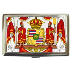 Kingdom Of Hawaii Coat Of Arms, 1850 1893 Cigarette Money Cases by abbeyz71