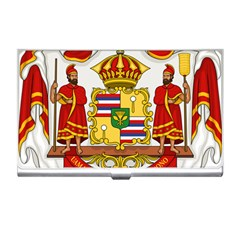 Kingdom Of Hawaii Coat Of Arms, 1850 1893 Business Card Holders by abbeyz71