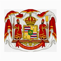 Kingdom Of Hawaii Coat Of Arms, 1850 1893 Small Glasses Cloth by abbeyz71