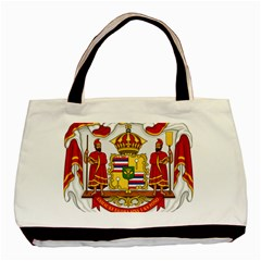 Kingdom Of Hawaii Coat Of Arms, 1850 1893 Basic Tote Bag (two Sides) by abbeyz71