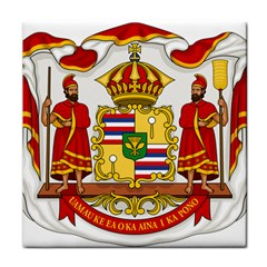 Kingdom Of Hawaii Coat Of Arms, 1850 1893 Face Towel by abbeyz71