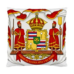 Kingdom Of Hawaii Coat Of Arms, 1850 1893 Standard Cushion Case (two Sides) by abbeyz71