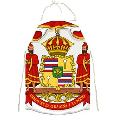 Kingdom Of Hawaii Coat Of Arms, 1850 1893 Full Print Aprons by abbeyz71