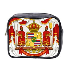Kingdom Of Hawaii Coat Of Arms, 1850 1893 Mini Toiletries Bag 2 Side by abbeyz71