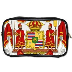 Kingdom Of Hawaii Coat Of Arms, 1850 1893 Toiletries Bags 2 Side by abbeyz71