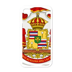 Kingdom Of Hawaii Coat Of Arms, 1850 1893 Apple Iphone 4 Case (white) by abbeyz71