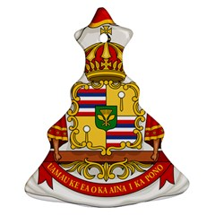 Kingdom Of Hawaii Coat Of Arms, 1850 1893 Ornament (christmas Tree)  by abbeyz71